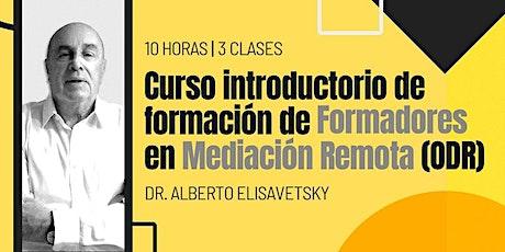 Curso introductorio de formación de formadores en entradas