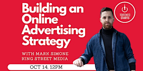 Building an Online Advertising Strategy tickets