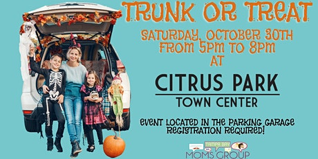Trunk or Treat at Citrus Park Town Center tickets