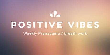 Pranayama  / Breathwork tickets