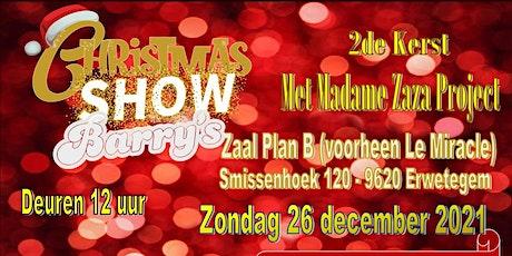 2de Kerst met Madame ZaZa tickets