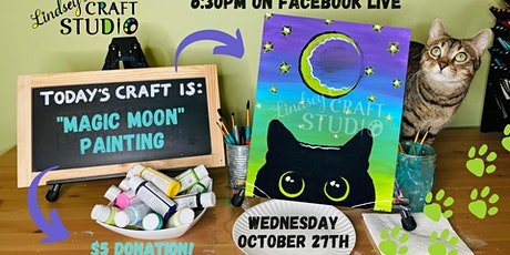 """Magic Moon"" Live Paint Night tickets"