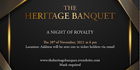 The Heritage Banquet tickets