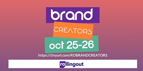 Brand Creators Virtual Conference presented by Rolling Out's RIDECON tickets