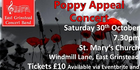 EGCB Poppy Appeal Concert tickets
