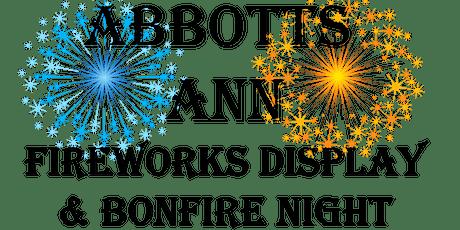 Abbotts Ann Village Fireworks Night tickets