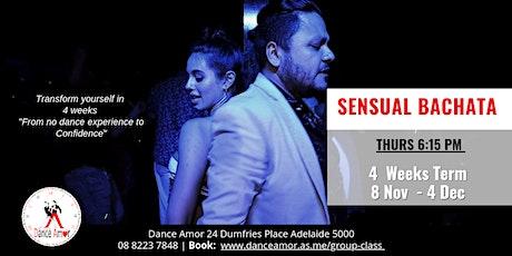 Sensual Bachata Beginners Dance Class Adelaide - Thursday 6:15 PM tickets
