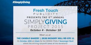 The 5th Annual #SimplyGiving Project
