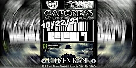 Below 7 with Citizen Kane tickets