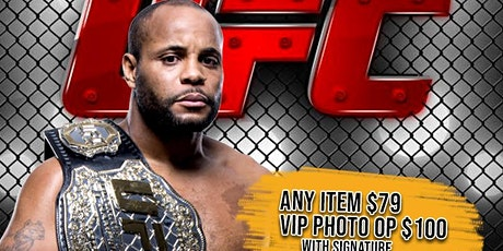 Daniel Cormier Signing tickets