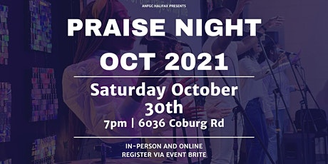 ANFGC Halifax Praise Night tickets