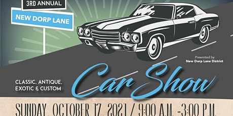 3rd Annual New Dorp Car Show Registration Form tickets