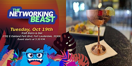 Networking Event & Business Card Exchange  by The Networking Beast (FT. L) tickets