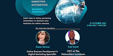 Mastering Marketing Automation biglietti