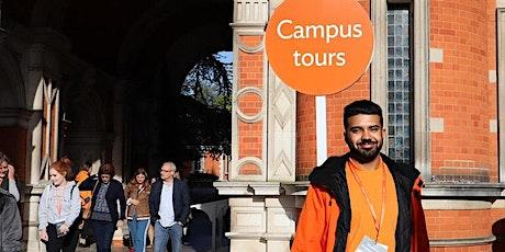 Undergraduate campus tours tickets