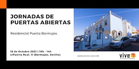 Jornadas de Puertas Abiertas  Residencial Puerta Bormujos entradas
