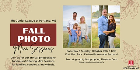 Fall Photo Mini Session Fundraiser tickets