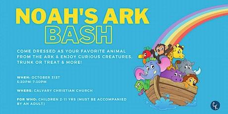 Noah's Ark Bash tickets