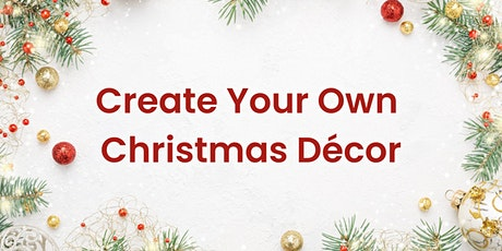 Create Your Own Christmas Décor with Just Sisters Signing tickets