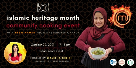 Islamic Heritage Month - Community Cooking Event with Reem Ahmed tickets