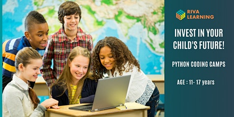 Coding Camps - Python for teens and pre teens, Week of Oct 18th or 25th tickets