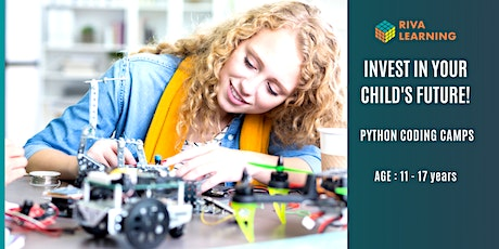 Half Term Coding Camps - Intermediate Python for teens,25th Oct, Morning tickets