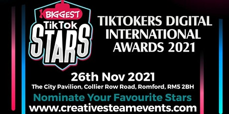 TikTok International Awards tickets