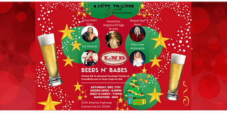 Beers N' Babes Holiday Dazzle - Drag Entertainment tickets