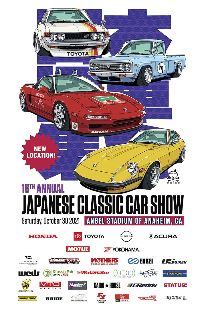 16th Annual Japanese Classic Car Show image