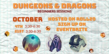 Dungeons & Dragons: Beginner Sessions tickets