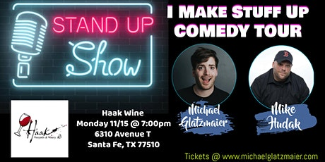 Comedy Night at Haak Winery tickets