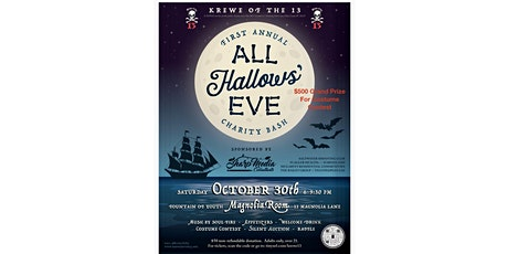 1st Annual All Hallows' Eve Charity Bash tickets