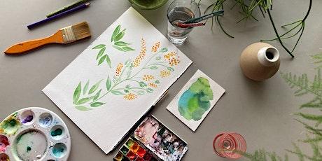 Watercolour Botanicals : Evening Class tickets