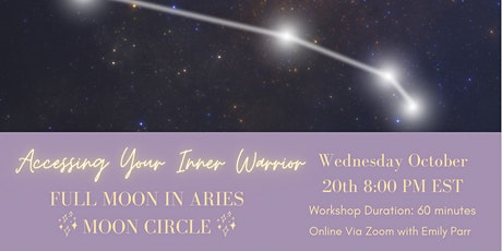 Full Moon in Aries Moon Circle tickets