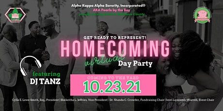 AKA Pearls by the Bay VIRTUAL  Homecoming Day Party tickets