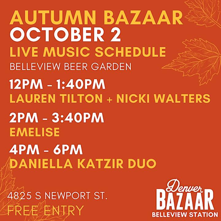Autumn BAZAAR at Belleview Station image