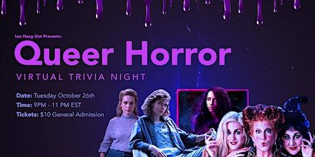 Queer Horror Virtual Trivia Night tickets