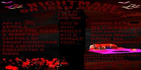 Nightmare on 18th Street (Rooftop & Indoor Halloween Art/Music Show) tickets