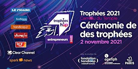Trophées 2021 h'up entrepreneurs - Remise des prix billets