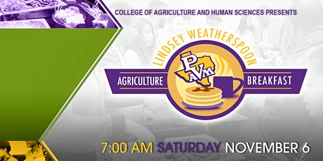 2021 Lindsey Weatherspoon Agriculture Breakfast tickets