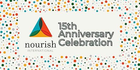 Nourish International 15th Anniversary Celebration tickets