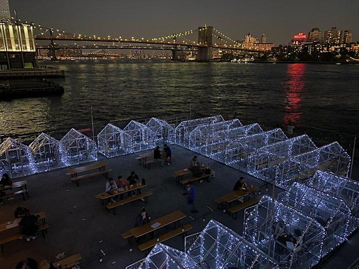 "FRI 10/29: ""HAUNTED PIER"" HALLOWEEN SILENT DISCO @ WATERMARK - PIER 15 NYC image"