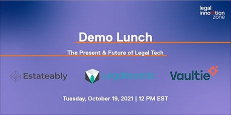 Demo Lunch: Session 3 tickets