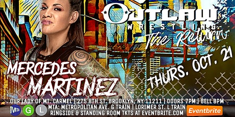 Outlaw Wrestling: The Return tickets