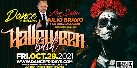 Grand Re-reopening - Halloween Extravaganza, Live Salsa Band, Bachata Room tickets