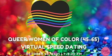 Queer Women of Color (Age 45-65) Virtual Speeddating tickets