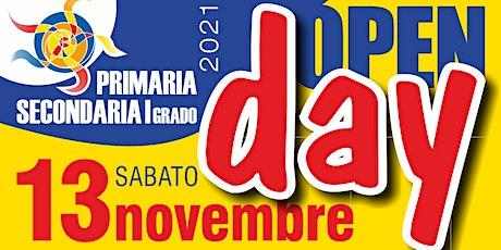 Open Day ELEMENTARI - Sabato 13 Novembre dalle 11.30 alle 12.30 biglietti