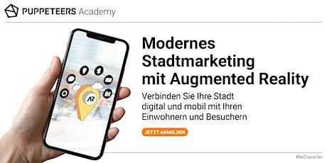 Modernes Stadtmarketing mit Augmented Reality entradas