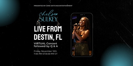 Chelsea Sulkey LIVE (Virtual Concert) tickets