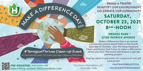 October 2021 Neighborhood Clean-up Event tickets